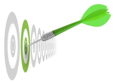 target-green-arrow