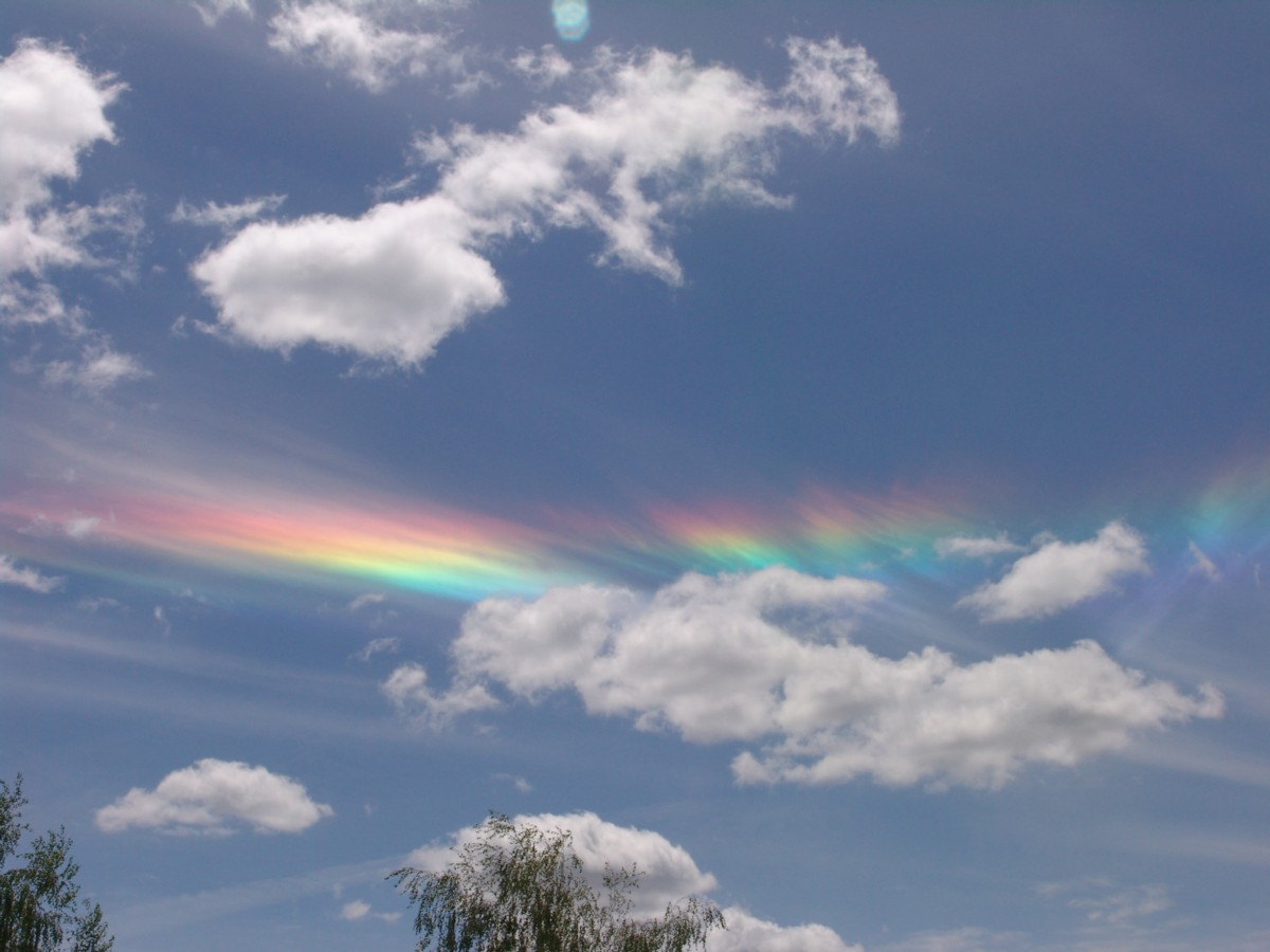 Rainbows in the Clouds | Education Matters